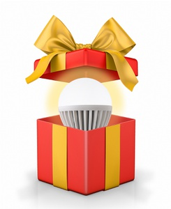 Light Bulb Gift Box
