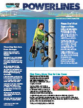 The electronic edition of our April 2021 Power Lines newsletter.