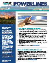 The electronic edition of our August 2021 Power Lines newsletter.