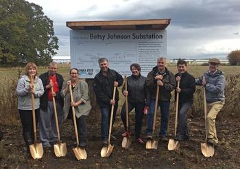 Sen  Johnson and CRPUD Break Ground on New Substation