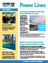 Our June 2018 Power Lines newsletter.