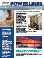 The electronic edition of our May 2019 Power Lines newsletter.