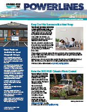 The electronic edition of our May 2021 Power Lines newsletter.