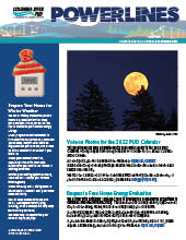 The electronic edition of our October 2021 Power Lines newsletter.